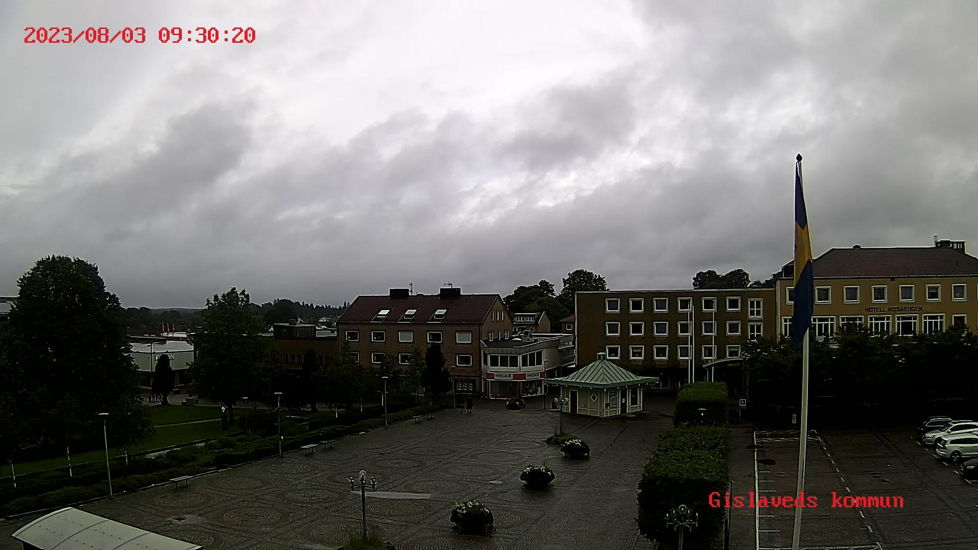 Webcam Gislaved, Gislaved, Småland, Schweden